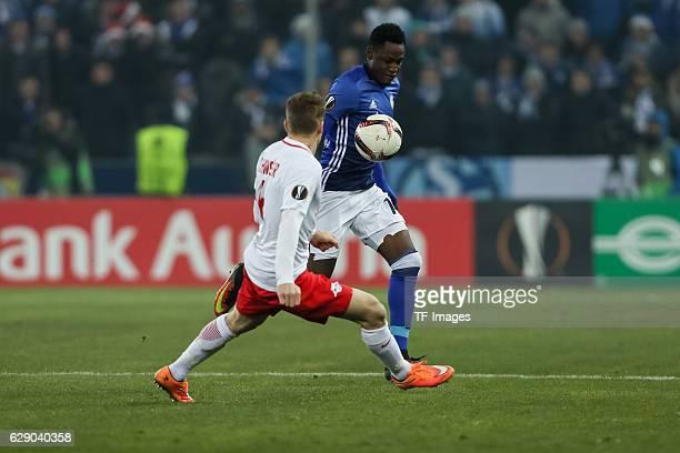 Xaver Schlager Salzburg Abdul Baba Rahman Schalke Battle Picture Stock Photos Pictures Getty Images