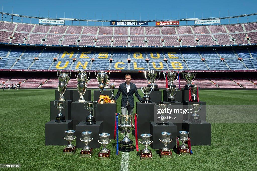 FC Barcelona Host a 'Homage to Xavi'