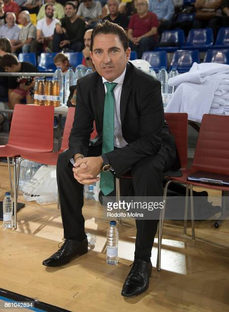 Xavi Pascual Head Coach of Panathinaikos Superfoods Athens in action during the 2017/2018 Turkish Airlines EuroLeague Regular Season Round 1 game...
