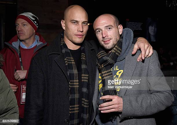 Xavier Chapelle and Will Palmer attend the Film Independent International Documentary Association Oovra Music And RO*CO FILMS Sundance Party at OP...