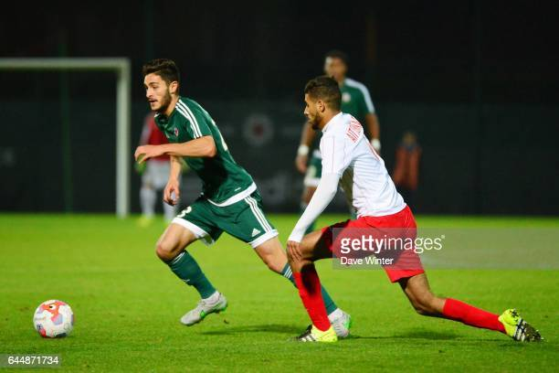 Xavier CHAVALERIN / Youssef AIT BENNASSER Red Star / Nancy Ligue 2 11e journee Photo Dave Winter / Icon Sport