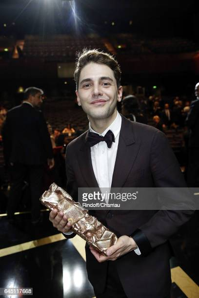 Xavier Dolan attends Cesar Film Award 2017 at Salle Pleyel on February 24 2017 in Paris France