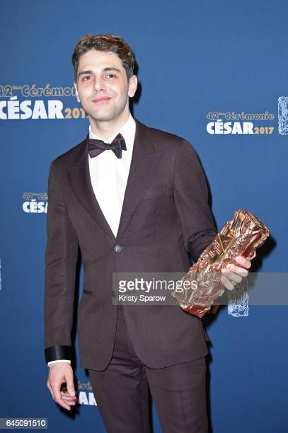 Xavier Dolan attends the Cesar Film Awards 2017 at Salle Pleyel on February 24 2017 in Paris France