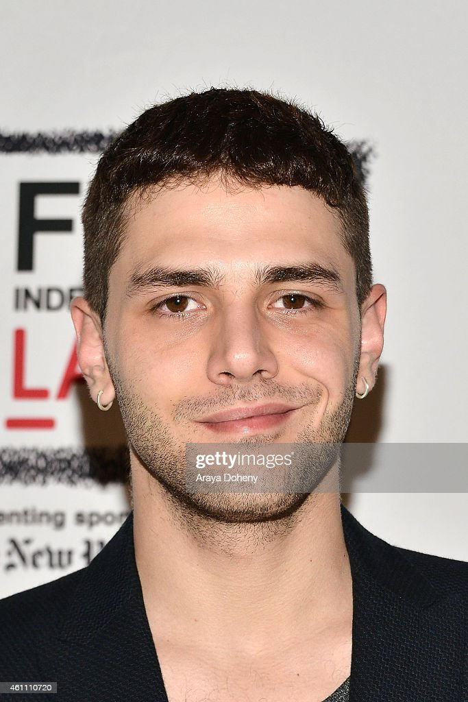 Xavier Dolan attends the Film Independent at LACMA screening and Q&A of 'Mommy' at Bing Theatre At LACMA on January 6, 2015 in Los Angeles, California.