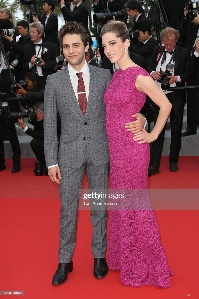 Xavier Dolan attends the 'Sicario' premiere during the 68th annual Cannes Film Festival on May 19, 2015 in Cannes, France.