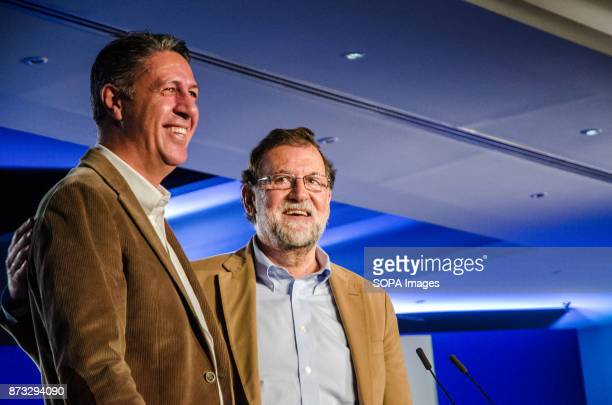 Xavier Garcia Albiol and Mariano Rajoy during the rally of the Popular Party of Catalonia The Popular Party of Catalonia has counted with the...