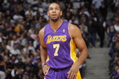Xavier Henry of the Los Angeles Lakers in a game against the Sacramento Kings on December 6 2013 at Sleep Train Arena in Sacramento California NOTE...
