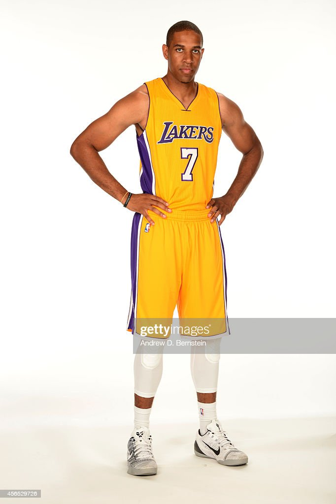 Xavier Henry of the Los Angeles Lakers poses for a portrait during the Los Angeles Lakers Media Day at the Toyota Sports Center on September 29 2014...