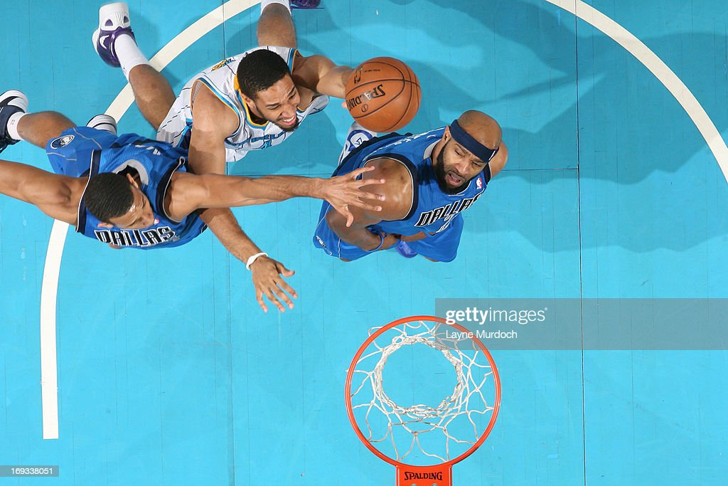<a gi-track='captionPersonalityLinkClicked' href=/galleries/search?phrase=Xavier+Henry&family=editorial&specificpeople=5792007 ng-click='$event.stopPropagation()'>Xavier Henry</a> #4 of the New Orleans Hornets shoots against the Dallas Mavericks on April 14, 2013 at the New Orleans Arena in New Orleans, Louisiana.