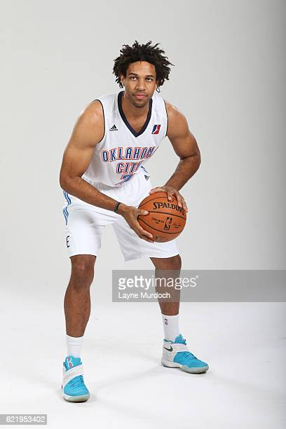 Xavier Henry of the Oklahoma City Blue poses for a portrait during media day on November 8 2016 at the Integris Blue Development Center in Oklahoma...