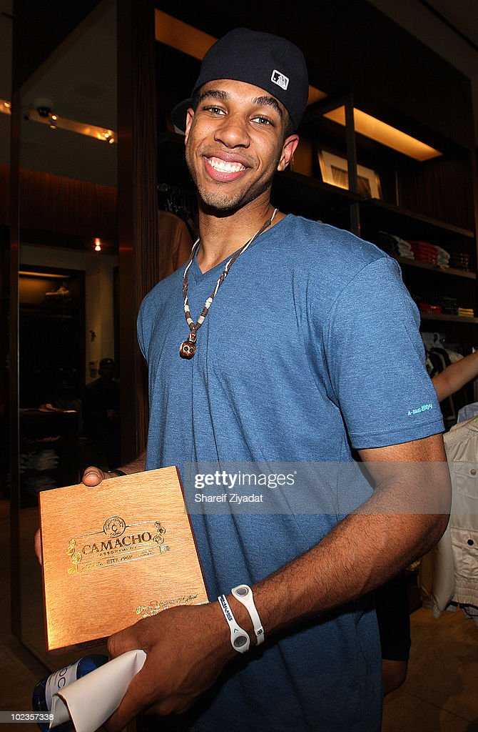 Xavier Henry visits the Sean John Store on June 23 2010 in New York City