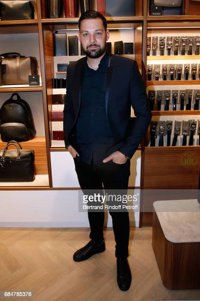 Xavier Pincemin attends the Montblanc ChampsElysees Flagship Reopening on May 18 2017 in Paris France
