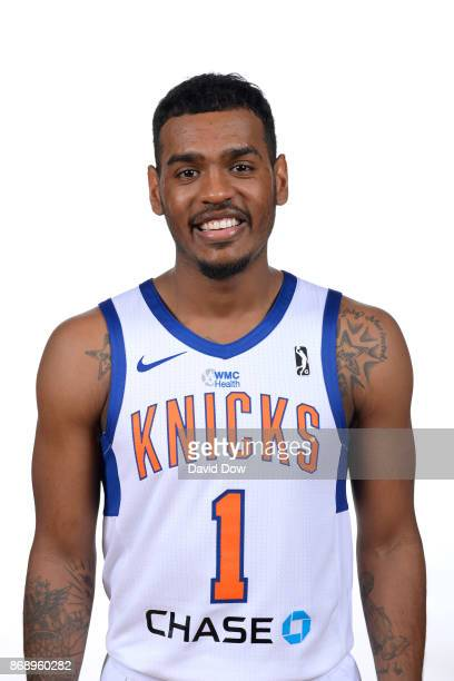 Xavier RathanMayes of the Westchester Knicks poses for a head shot during the NBA GLeague media day on October 31 2017 in Tarrytown New York NOTE TO...