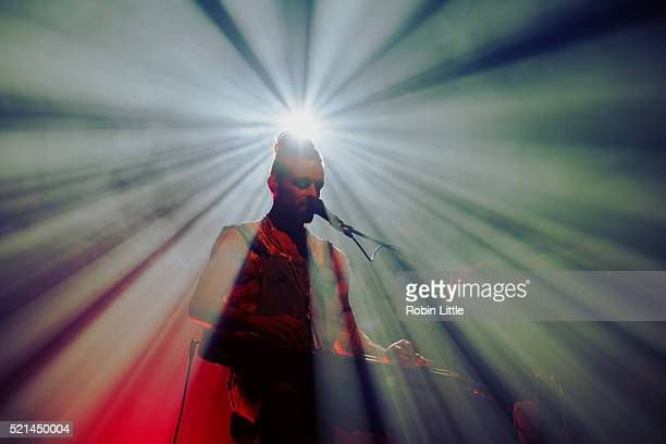 Xavier Rudd performs at Electric Ballroom on April 15 2016 in London England