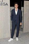 Omega Chronoscope Launch Red Carpet - Milan Fashion...