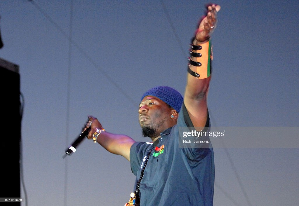 X-Clan during 21st Annual SXSW Film and Music Festival - BMI Presents Public Enemy, X-Clan and Ozomatli at Town Lake Stage in Austin, Texas, United States.