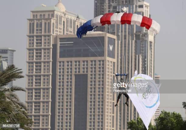 Dubai in action during the Dubai Fitness Challenge Opening Carnival at Safa Park on October 20 2017 in Dubai United Arab Emirates The inaugural Dubai...