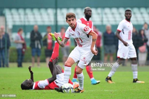 Xeka of Lille during the pre season friendly between Lille OSC and Stade de Reims on July 15 2017 in Le TouquetParisPlage France