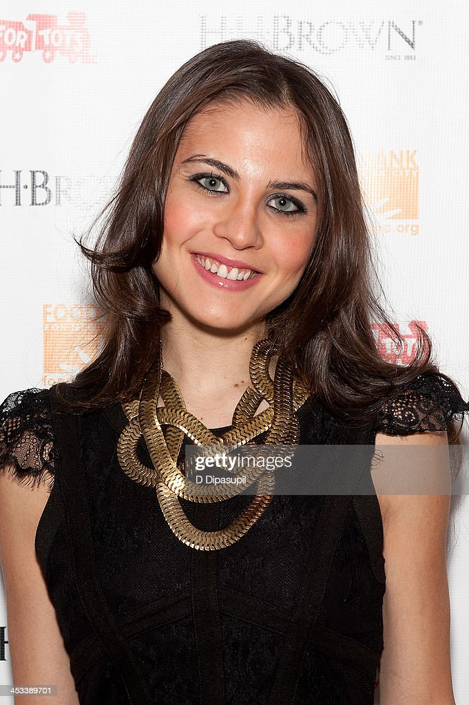 Xenia Ghali attends the H.H. Brown Shoe Company Season Of Giving Holiday Party on December 3, 2013 in New York City.