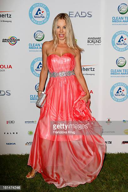 Xenia Seeberg attends the Clean Tech Media Award at Tempodrom on September 7 2012 in Berlin Germany