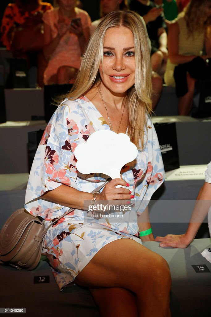 <a gi-track='captionPersonalityLinkClicked' href=/galleries/search?phrase=Xenia+Seeberg&family=editorial&specificpeople=2641773 ng-click='$event.stopPropagation()'>Xenia Seeberg</a> attends the Irene Luft show during the Mercedes-Benz Fashion Week Berlin Spring/Summer 2017 at Erika Hess Eisstadion on July 1, 2016 in Berlin, Germany.