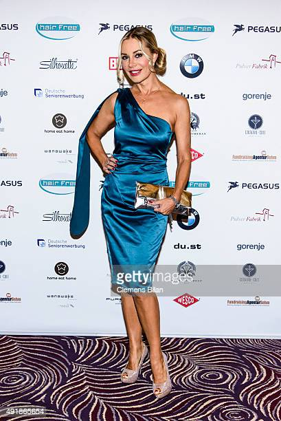 Xenia Seeberg attends the Lebensherbst charity gala at Waldorf Astoria on October 8 2015 in Berlin Germany