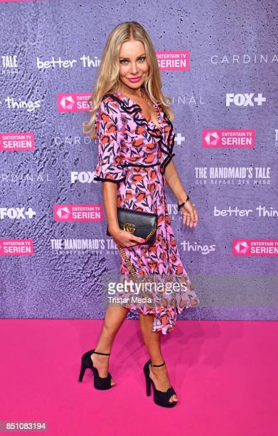 Xenia Seeberg attends the TV series start of 'The Handmaid's Tale Der Report der Magd' at Astor Film Lounge on September 21 2017 in Berlin Germany