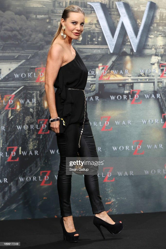 <a gi-track='captionPersonalityLinkClicked' href=/galleries/search?phrase=Xenia+Seeberg&family=editorial&specificpeople=2641773 ng-click='$event.stopPropagation()'>Xenia Seeberg</a> attends 'WORLD WAR Z' Germany Premiere at Sony Centre on June 4, 2013 in Berlin, Germany.