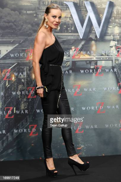 Xenia Seeberg attends 'WORLD WAR Z' Germany Premiere at Sony Centre on June 4 2013 in Berlin Germany