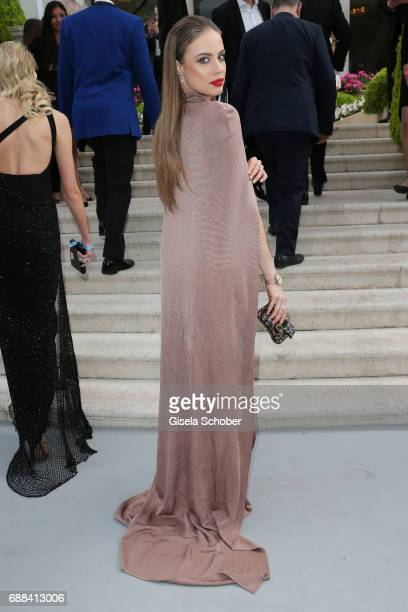 Xenia Tchoumitcheva arrives at the amfAR Gala Cannes 2017 at Hotel du CapEdenRoc on May 25 2017 in Cap d'Antibes France