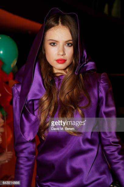 Xenia Tchoumitcheva attends LondonÕs Fabulous Fund Fair hosted by Natalia Vodianova and Karlie Kloss in support of The Naked Heart Foundation on...