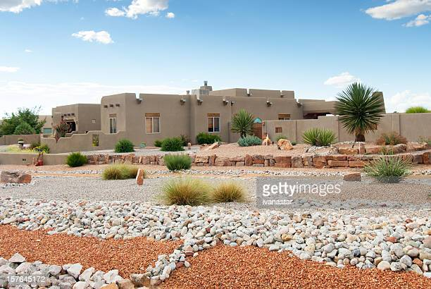 Xeriscaped Southwestern Home