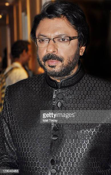 Factor judge and Director Sanjay Leela Bhansali on the sets of television reality show 'X Factor' in Filmcity Mumbai