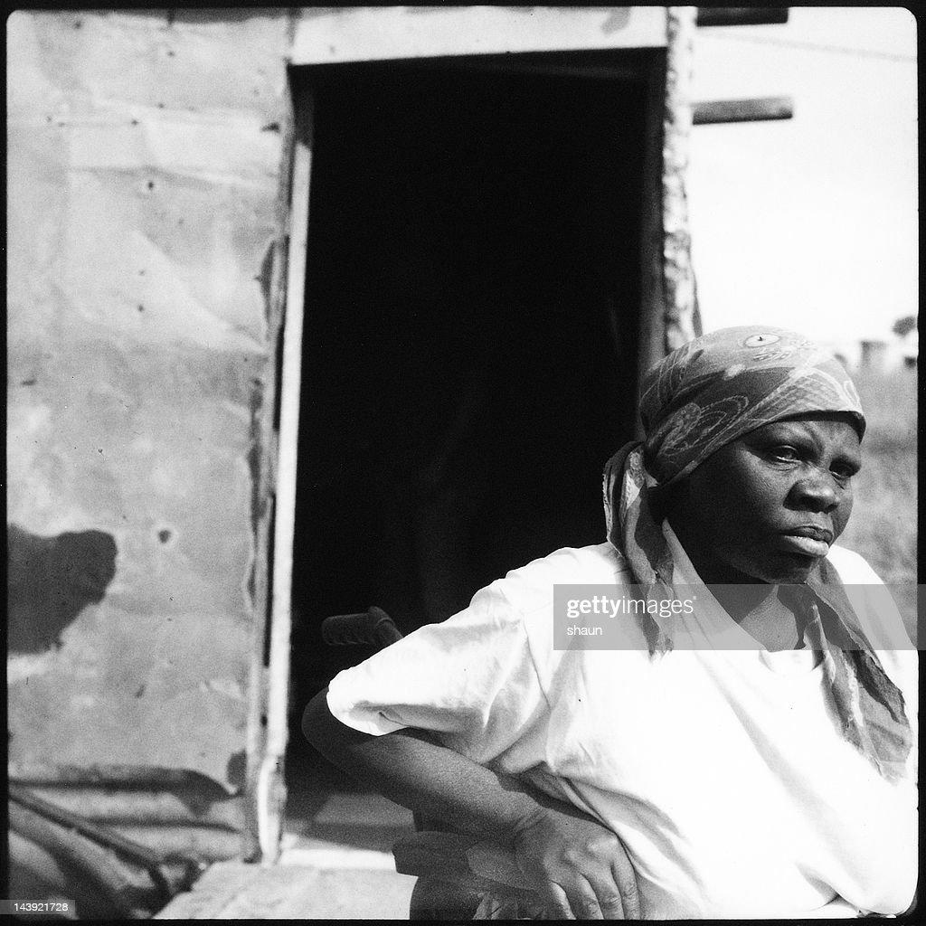 Xhosa Woman | Mthatha Polaroid Series : Stock Photo