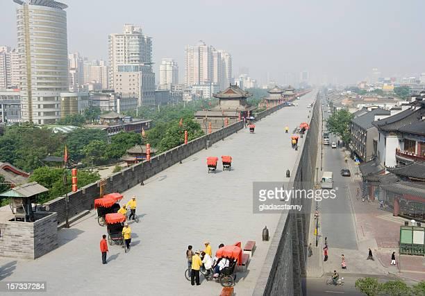 Xi'an China City Wall