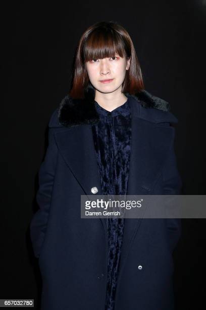 Xiao Li attends the MercedesBenz #MBCOLLECTIVE Chapter 1 launch party with M I A and Tommy Genesis on March 23 2017 in London United Kingdom