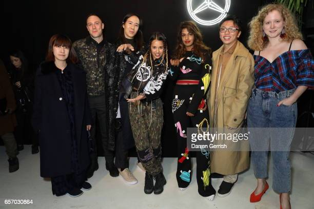 Xiao Li Luke Gilford William Fan Tommy Genesis M I A Steven Tai and Anna October attend the MercedesBenz #MBCOLLECTIVE Chapter 1 launch party with M...