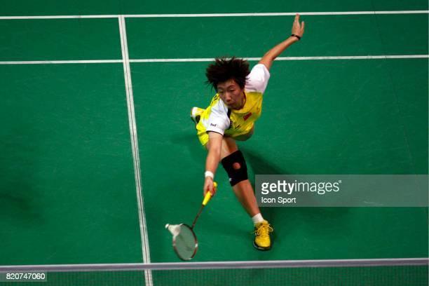 Xiaoli WANG Double Femme Championnats du Monde de Badminton 2010 Stade Pierre de Coubertin Paris