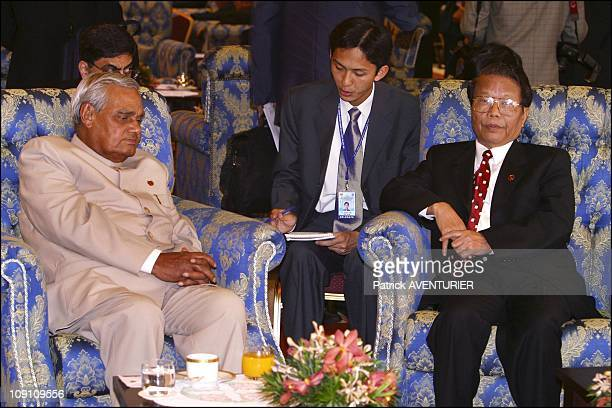XIIIth Nam Summit'S Ministerial Meeting At Merdeka Hall Pwtc Kuala Lumpur On February 23Th 2003 In Kuala Lumpur Malaysia Indian Prime Minister Atal...