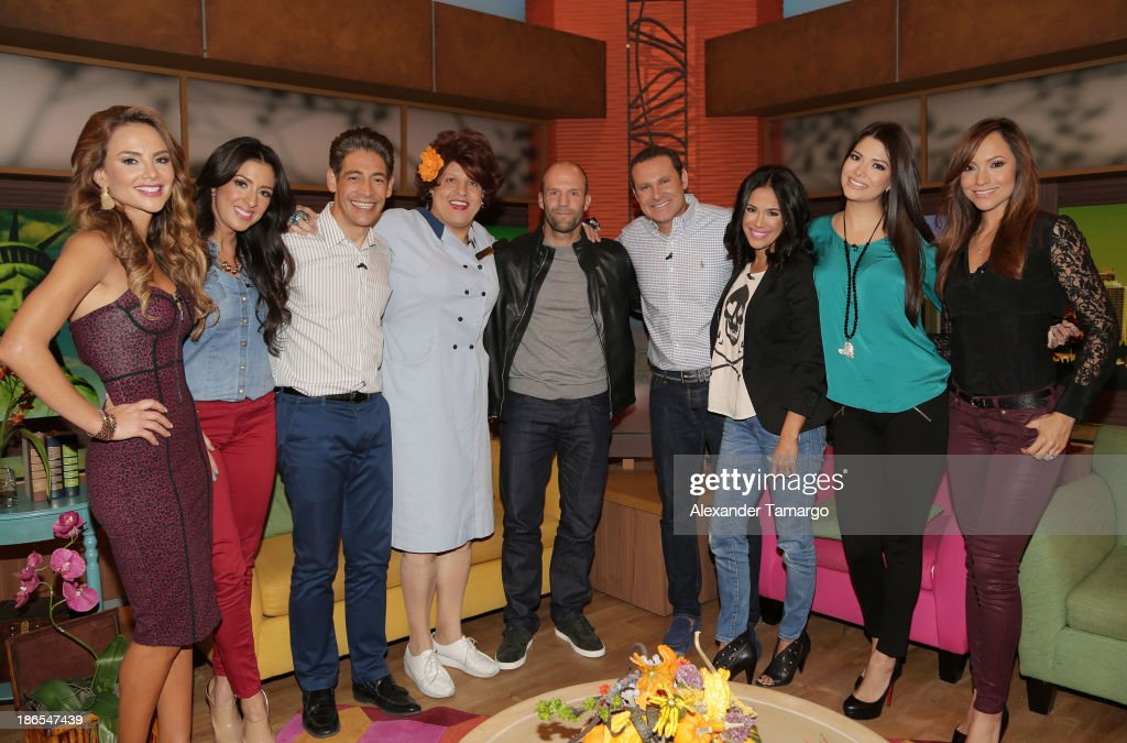"On The Set Of ""Despierta America"""