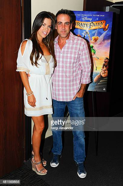 Ximena Duque and Carlos Ponce attend the THE PIRATE FAIRY Screening hosted by Carlos Ponce at Paragon Grove 14 on March 30 2014 in Coconut Grove...