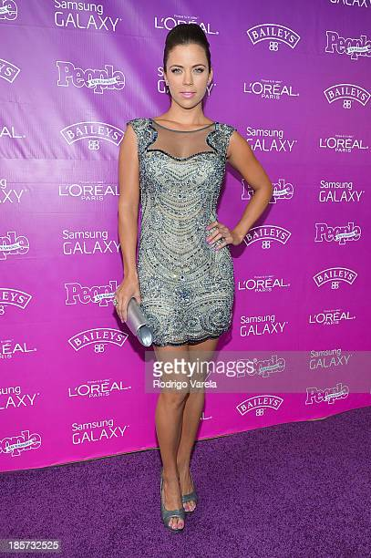 Ximena Duque arrives to People en Espanol's 25 Most Powerful Women Luncheon at Coral Gables Country Club on October 24 2013 in Coral Gables Florida