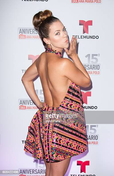 Ximena Duque attends Dra Ana Maria Polo 15th Anniversary Celebration at SLS Miami on September 13 2016 in Miami Florida
