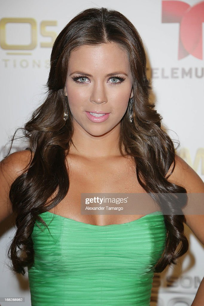 Ximena Duque attends Telemundo's Todos Somos Heroes Gala on May 7, 2013 in Miami, Florida.