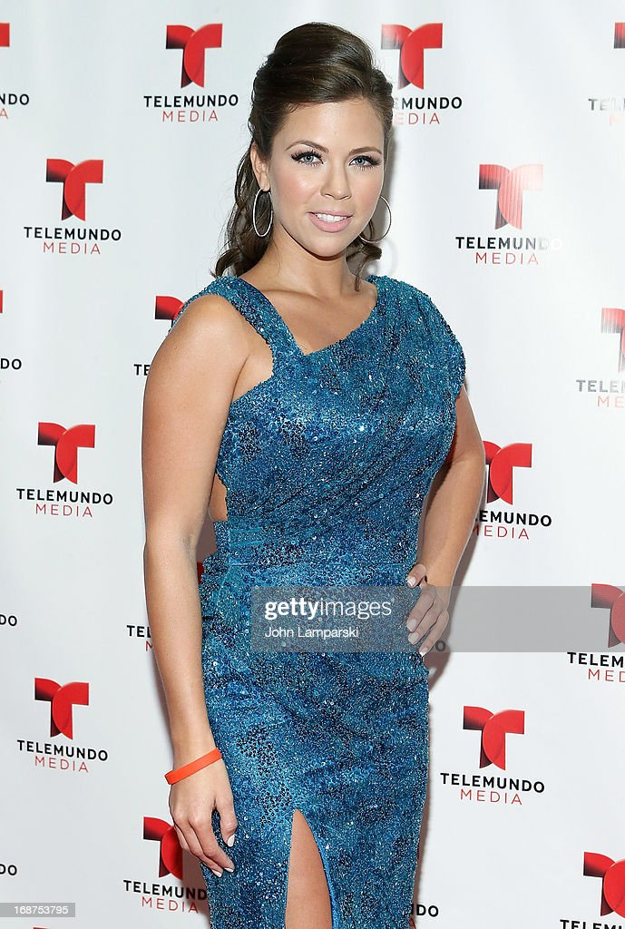 Ximena Duque attends the 2013 Telemundo Upfront at Frederick P. Rose Hall, Jazz at Lincoln Center on May 14, 2013 in New York City.
