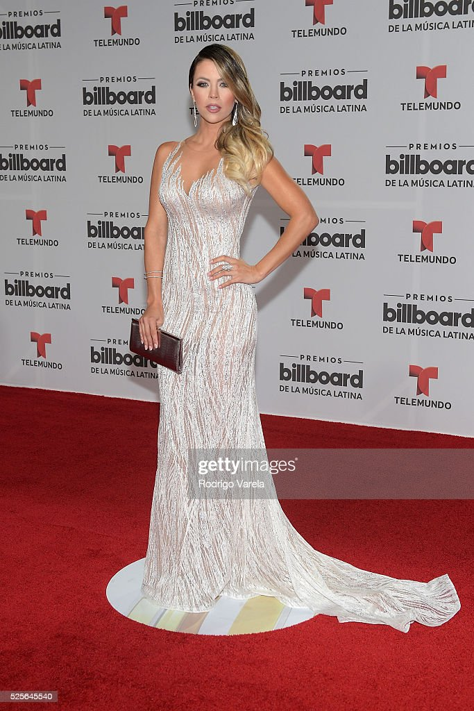 Ximena Duque attends the Billboard Latin Music Awards at Bank United Center on April 28, 2016 in Miami, Florida.