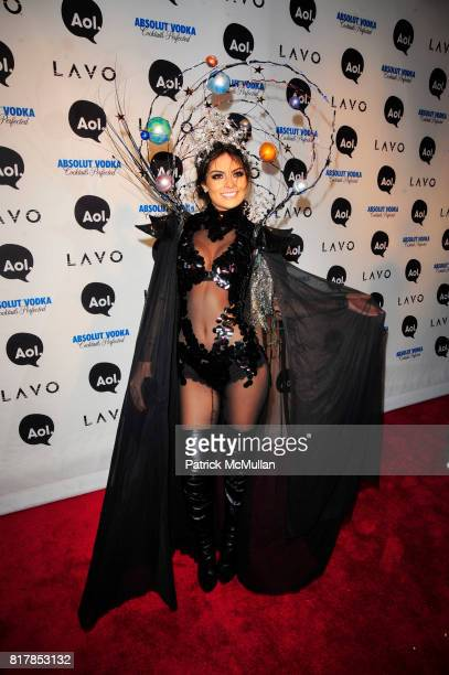 Ximena Navarrete attend AOL presents HEIDI KLUM's Annual Halloween Party at LAVO on October 31st 2010 in New York City