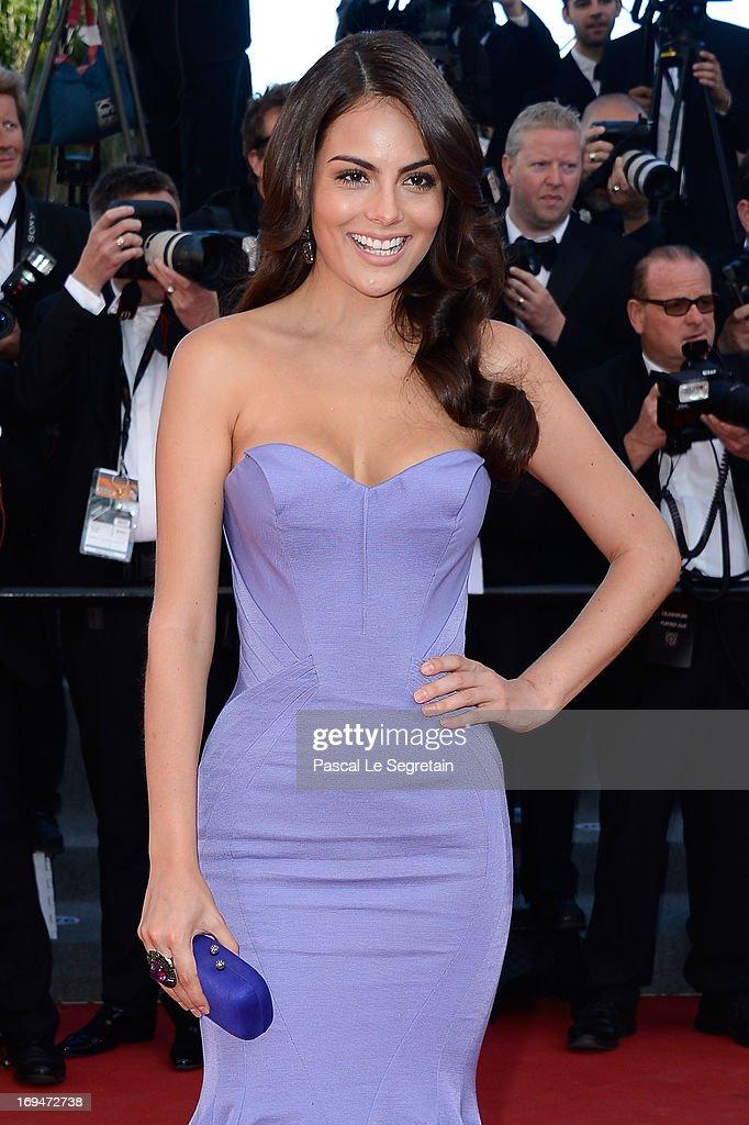 Ximena Navarrete attends the 'La Venus A La Fourrure' premiere during The 66th Annual Cannes Film Festival at the Palais des Festivals on May 25, 2013 in Cannes, France.