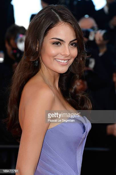 Ximena Navarrete attends the 'La Venus A La Fourrure' premiere during The 66th Annual Cannes Film Festival at the Palais des Festivals on May 25 2013...