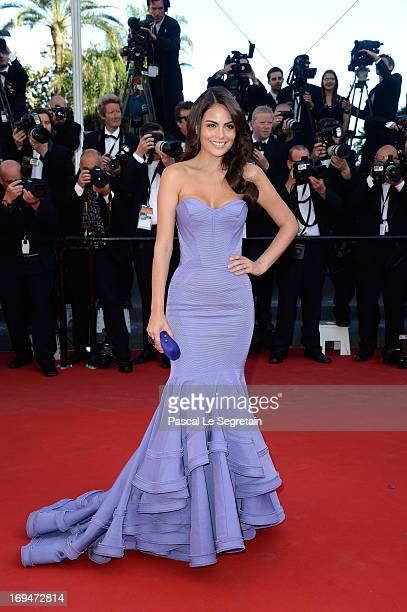 Ximena Navarrete attends the 'La Venus A La Fourrure' premiere during The 66th Annual Cannes Film Festival at the Palais des Festivals on May 25 2013...